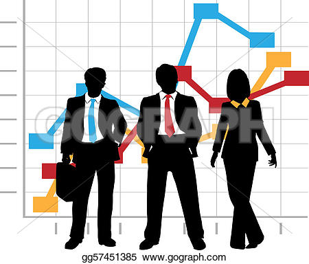 Graph clipart new business Graph Vector Sales growth