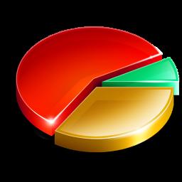 Graph clipart pie chart Savoronmorehead Pie Icon Image Clipart