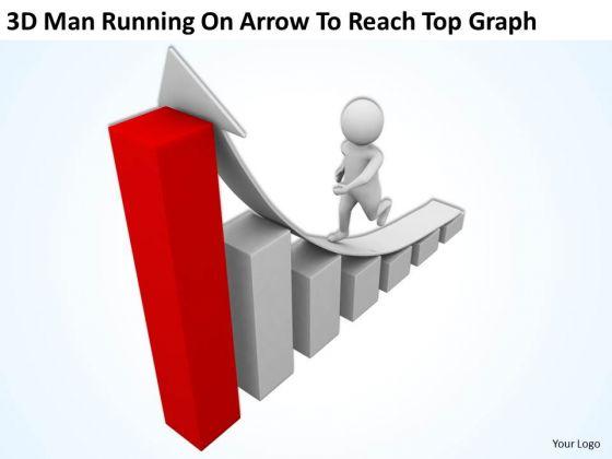 Graph clipart powerpoint Arrow Clipart People  Man