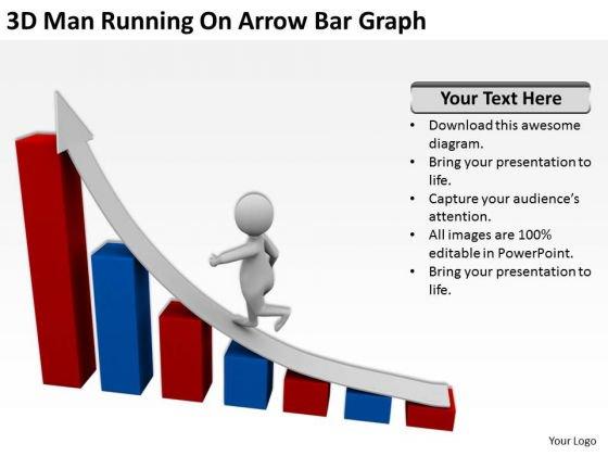 Graph clipart powerpoint 3d Templates PowerPoint Bar Business