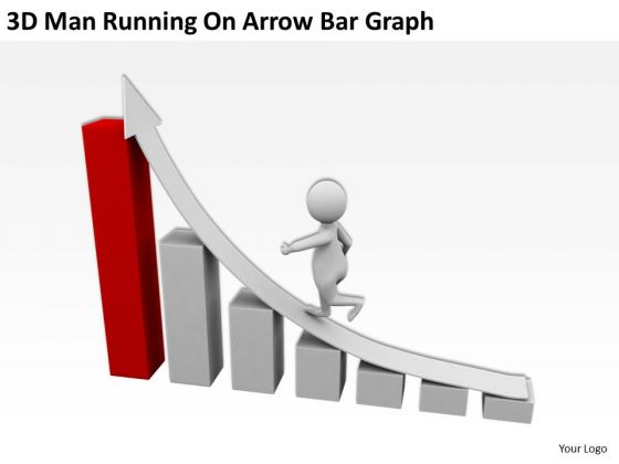 Graph clipart powerpoint Arrow Clipart People Man On
