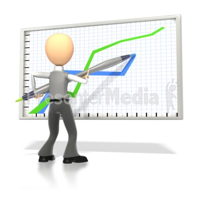 Figurine clipart graph Stick Great Drawing and Business
