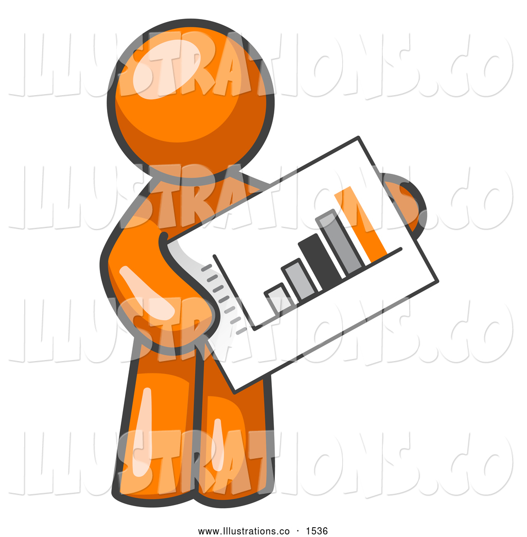 Graph clipart productive Holding Man Free Productive Royalty