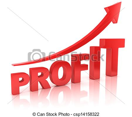 Profit Illustration Clip graph Stock
