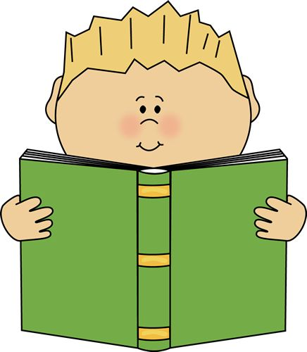 Covered clipart book cartoon Book Clipart and Boy Pin