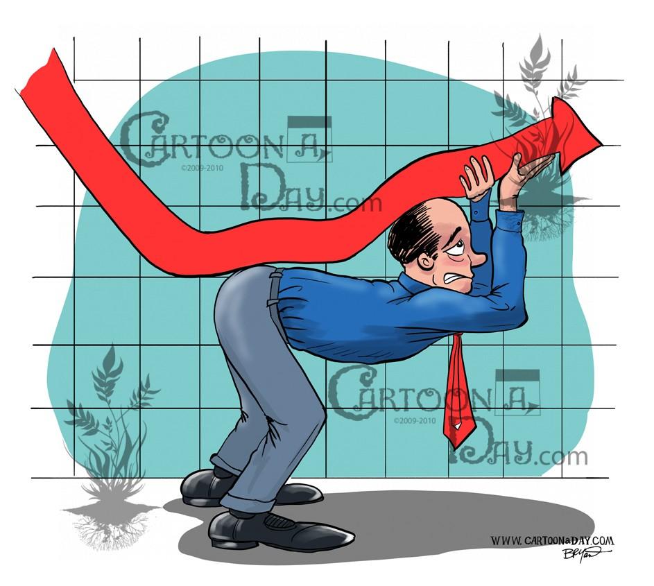 Graph clipart recession Cartoon Cartoon  Recession ❤