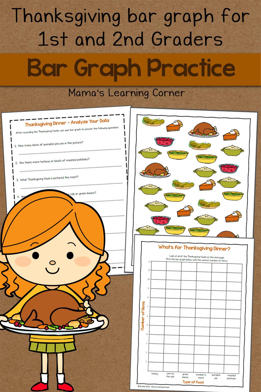 Graph clipart recording data Worksheet: Learning Mamas  Corner