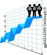 Graph clipart sale chart Chart Illustration Vector company sales