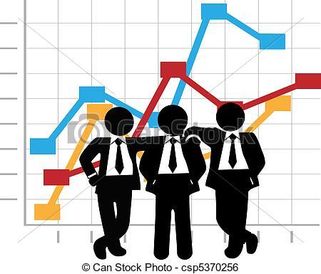 Graph clipart sale chart Growth Profit Chart Graph Vector