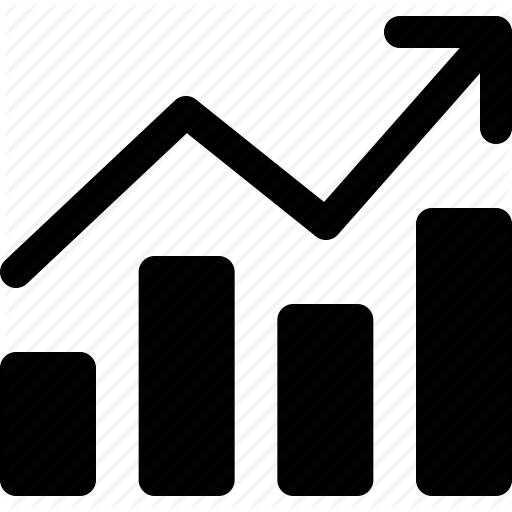 Graph clipart sale chart Sales  icon stock graph