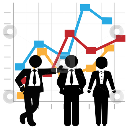 Business clipart sales team People Business Profit and Business