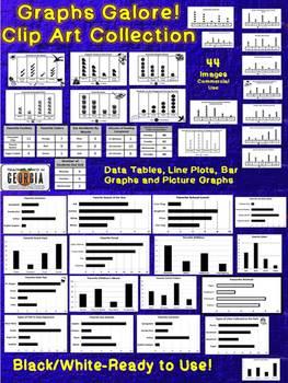 Graph clipart school data Table Table Graphs Line Art