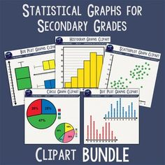 Graph clipart statistics math Clip Greater Secondary and Graph