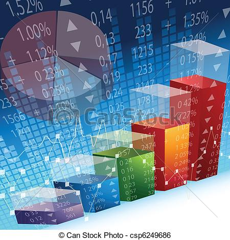Graph clipart stock market rise Abstract inspired csp6249686 Art Design