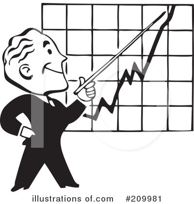 Graph clipart stock market rise Chart clipartby Gal Clipart vector