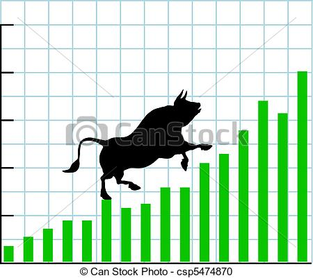 Graph clipart stock market rise Savoronmorehead bullish chart Clip Clipart