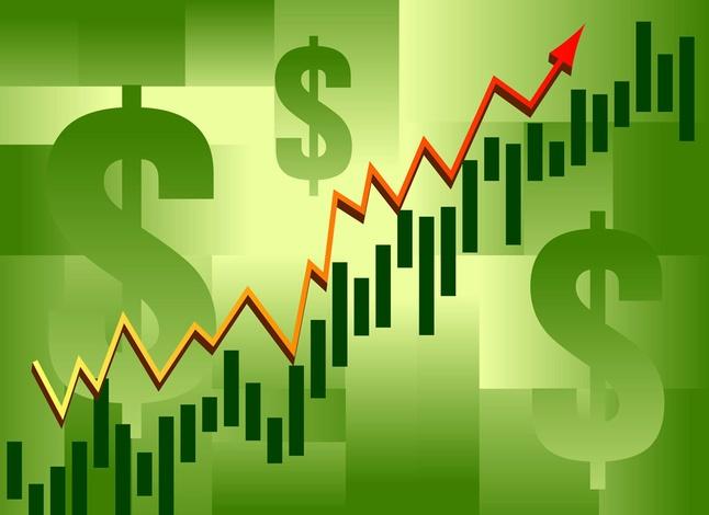 Graph clipart stock market rise Market art market clip clip