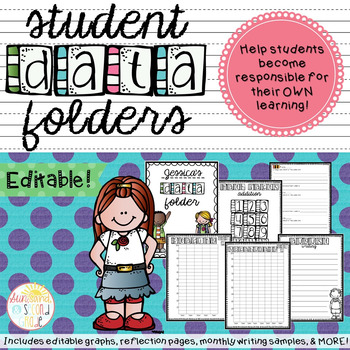 Graph clipart student data Teachers Editable! Beverly Folders Edit