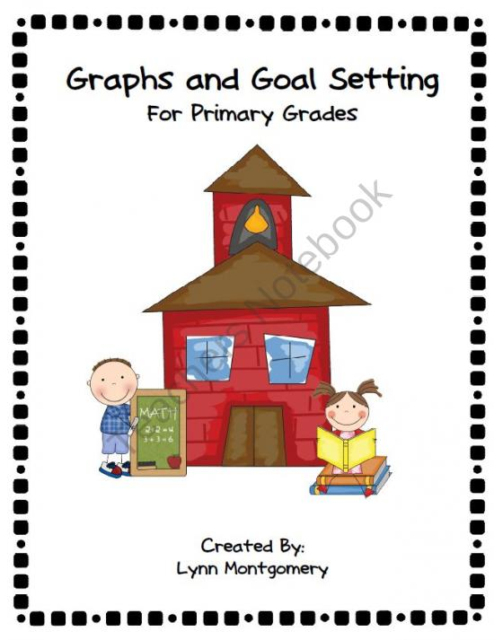 Graph clipart student data Cover Folder Reading Cover for: