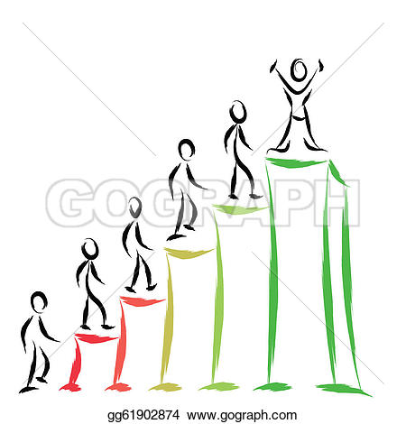 Graph clipart success People Vector people Clipart on