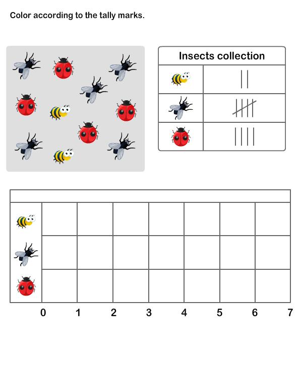Graph clipart tally chart Tally Grade 2 Chart Math