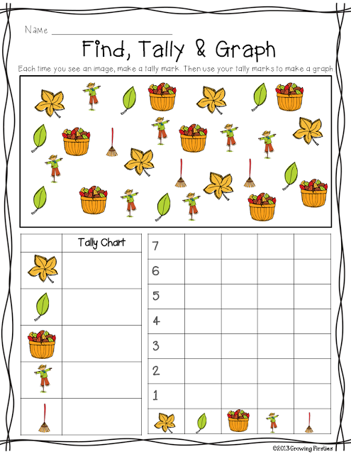 Graph clipart tally chart FREEBIE! a & tally Types