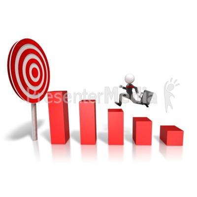 Graph clipart target Market  Graph Target Clipart