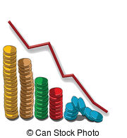 Graph clipart upward  Upward Illustrations slope