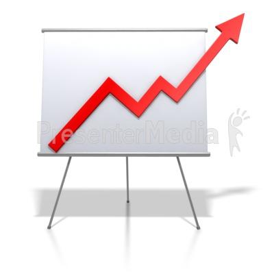 Graph clipart upward Graph Trends PresenterMedia ID# Clipart