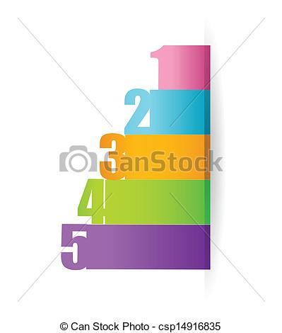 Graph clipart vector design #3