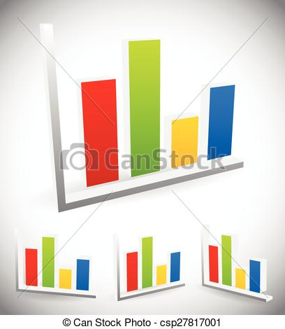Graph clipart vector design #4