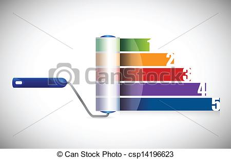 Graph clipart vector design #1