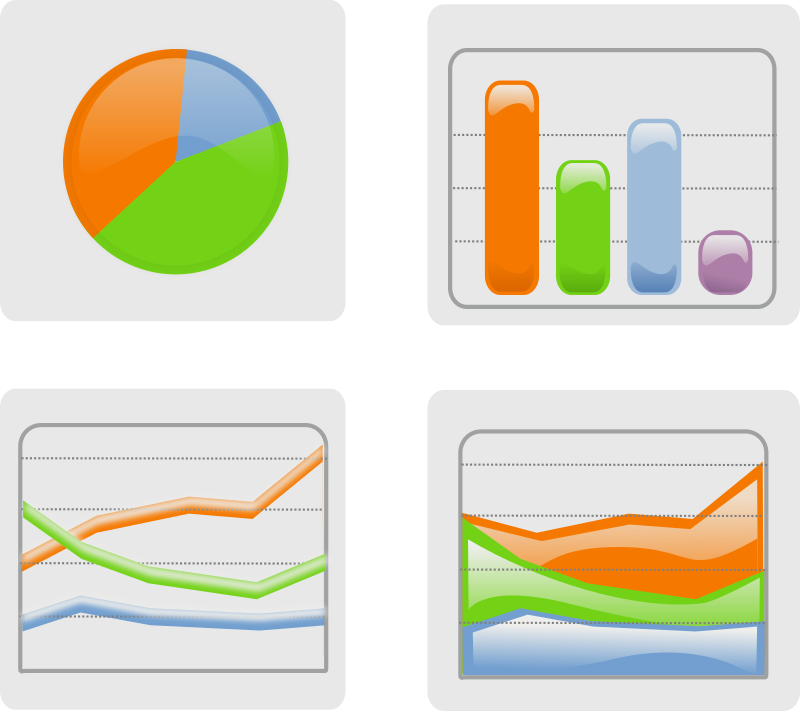 Graph clipart visualization And Using Information Visualizing Tools