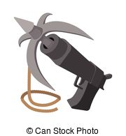 Grapple clipart Stock hook Gun  icon