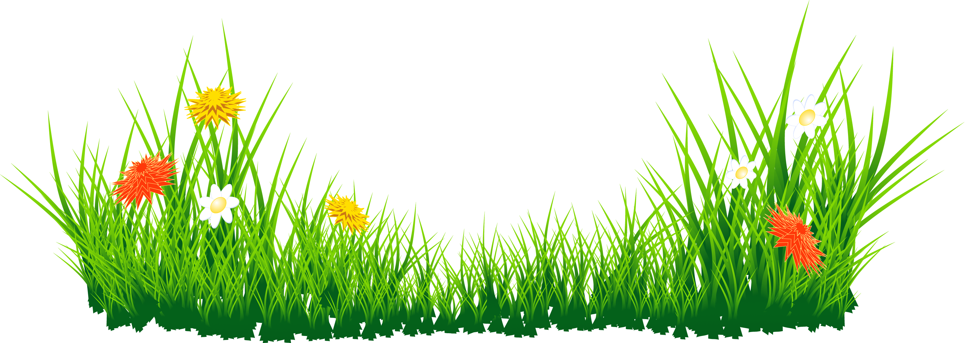 See clipart tree grass #11