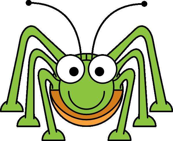 Bug clipart green grasshopper As: Grasshopper  Cartoon Clip