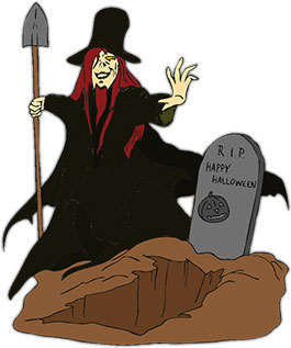 Grave clipart animated O Digger Lantern Happy Grave