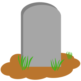 Grave clipart blank #3