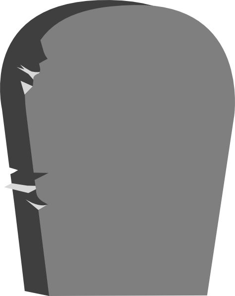 Grave clipart blank #6