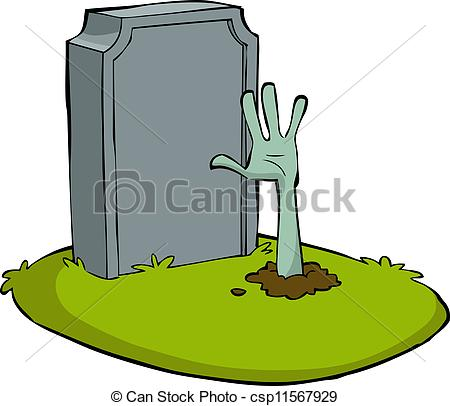 Grave clipart blank #10