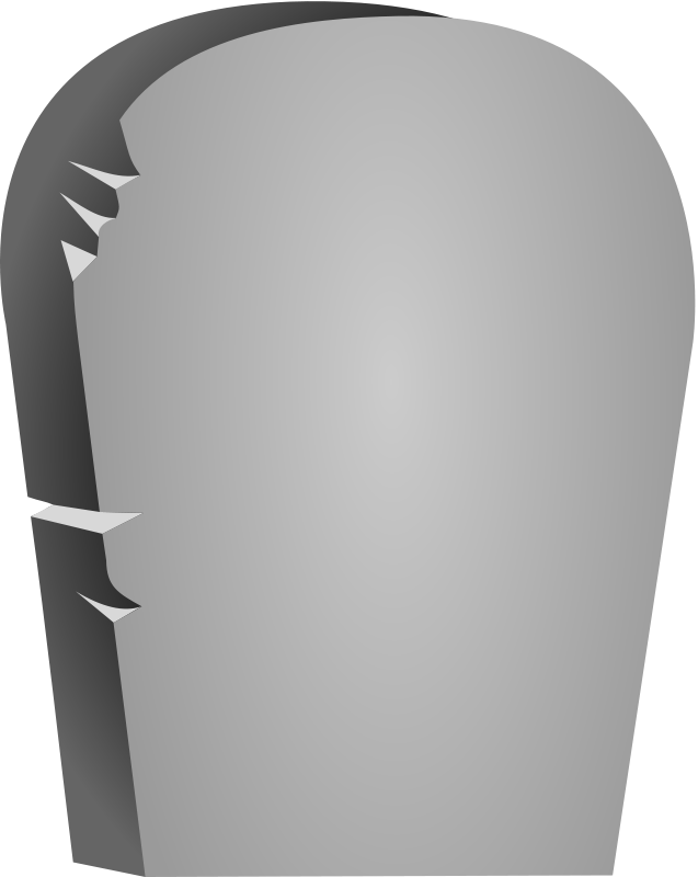 Grave clipart blank #1