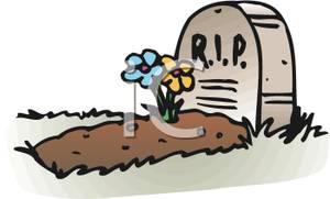 Grave clipart cartoon RIP Cartoon the the Grave