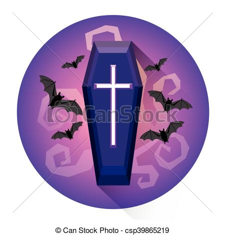 Grave clipart coffin Grave csp39865219 Cemetery Holiday Coffin