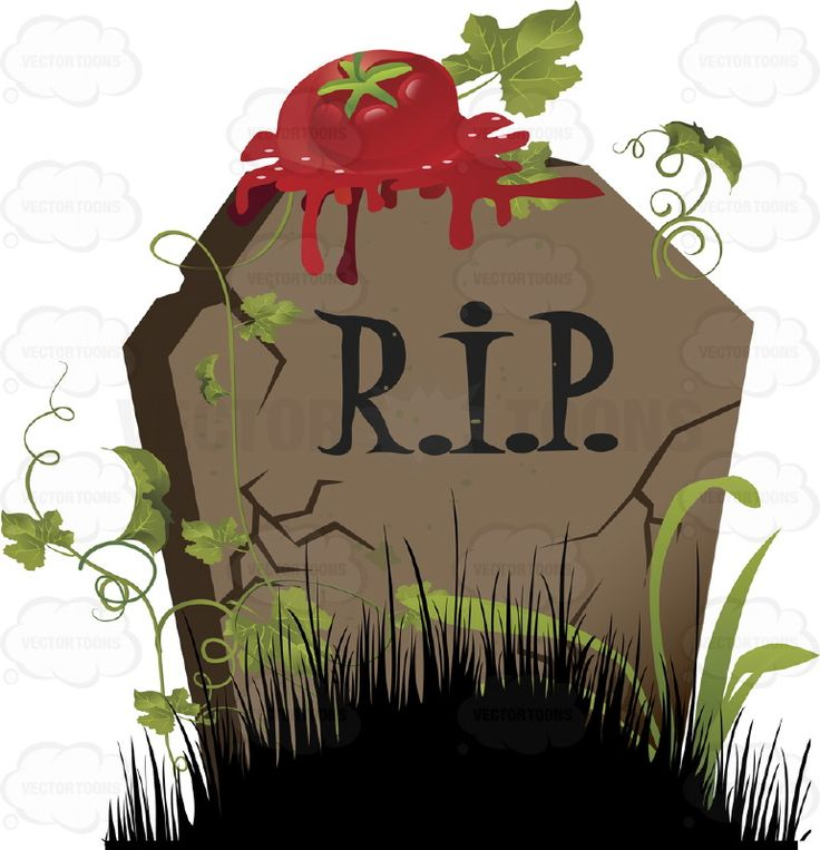 Grave clipart dead guy Squashed Green Tall about Cartoon