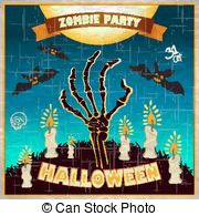 Grave clipart dead man Spooky the vector  of