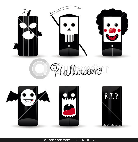Grave clipart dracula Halloween icon Halloween pack stock