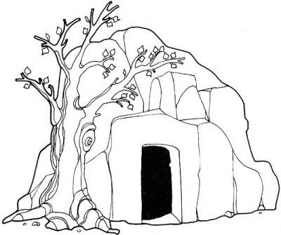 Grave clipart easter Tomb Jesus clipart collection 20+