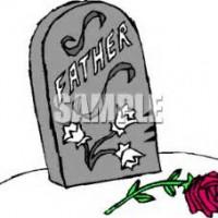 Grave clipart flower clipart Art Grave Clip Design Plaque