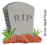 Tombstone clipart burial  Collection clipartby stone Grave