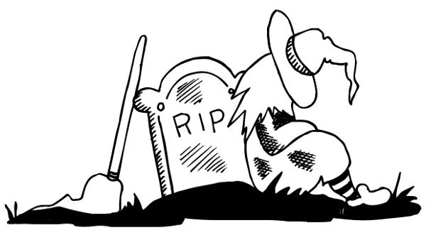 Grave clipart graveyard Art Graveyard Nap BW Download